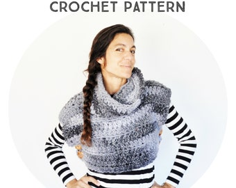 The Super Chunky Vest Crochet Pattern, phototutorial step by step, for beginners, tutorial, boho poncho, boho vest, wood button, alpaca yarn