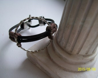 Men, man, man Brown Leather Bracelet bracelet jewelry