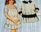 Paper Dolls, Brother and Sister, Billy and Betty, 1909 Paper Dolls  #262