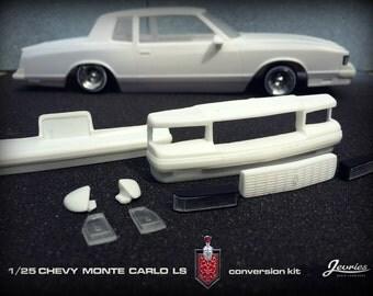 1/25 scale Monte Carlo LS conversion resin kit