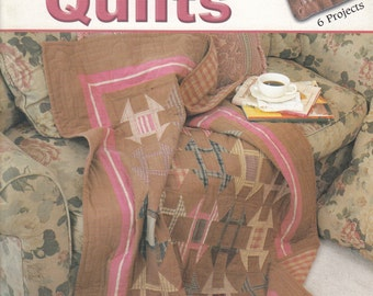 Patterns For Quilting - Warm Up To Flannel Quilts 6 Projects - Quilting Pattern Book - Quilt Patterns