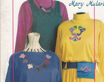 Mary Mulari Accents For Your Style - Accessories Sewing Pattern - Applique Embroidery Patterns - Craft Pattern