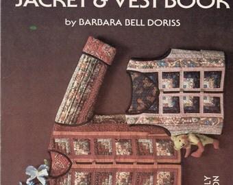 The Original Log Cabin Jacket & Vest Book - Quilting Pattern Book - Quilt Patterns