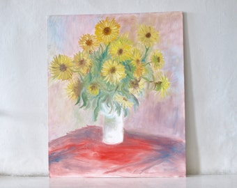 An original copy of Monet Sunflowers