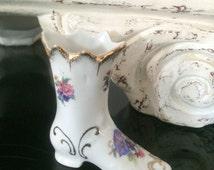Collectable German Elfinware Porcelain Boot