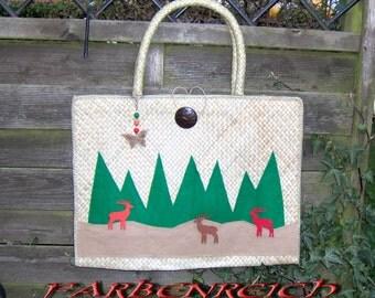 """Bag: """"deer in the Woods"""""""