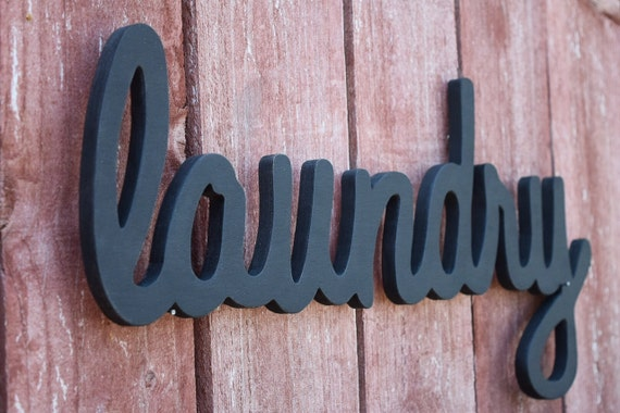 Laundry Sign Laundry Room Home Decor Wooden Laundry Sign