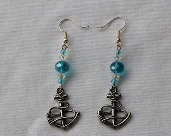 Anchors Away - Anchor earrings