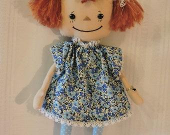 Rag Doll Handmade with Adoption Certificate