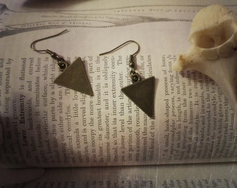Witchy Triangle Dangle Earrings
