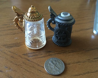 vintage miniature mugs