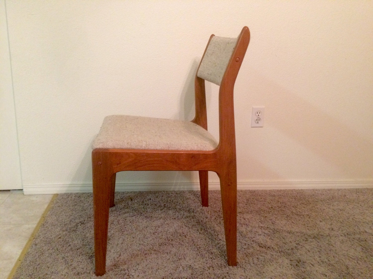mid century modern danish chair by d scan by
