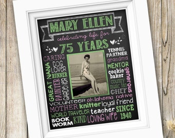 75th birthday party gift ideas
