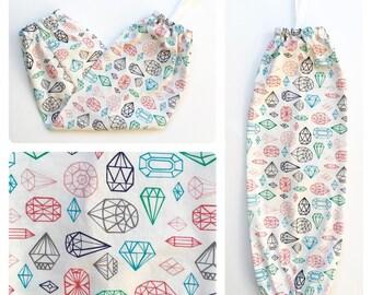 Plastic Bag Holder/ Grocery Bag Holder/ Bag Dispenser - Jewels