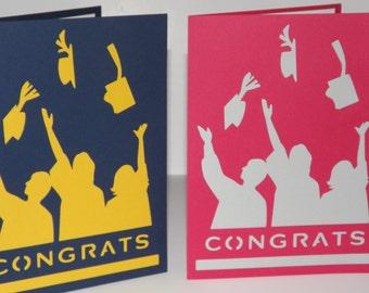 Graduation Card You Pick the colors!!
