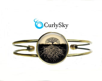 Tree Root and Stem Bracelet