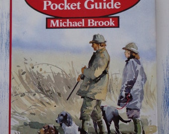 Vintage Book - The Gameshooter's Pocket Guide 1990, Good Condition Hardback Book with Dust Cover, Sporting Gun Book.