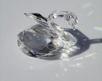 Swarovski Crystal Swan 1.5 x 1