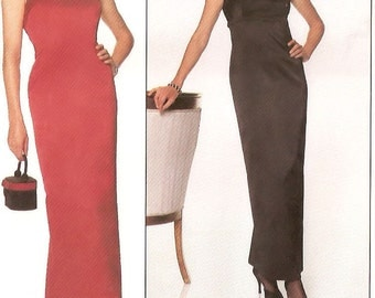 McCall's Laundry by Shelli Segal sewing pattern - mod evening dress