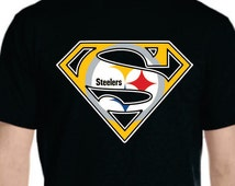 Hero Steelers T-shirt Available **LIMITED TIME ONLY** for Men Women Youth Toddler Infant Onesie Baby size to 6XL plus size 100% Fan Art