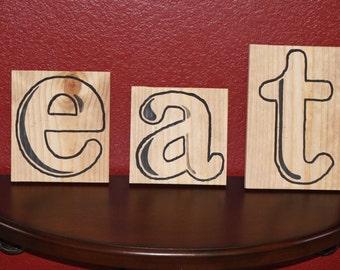 EAT Kitchen Wall Art