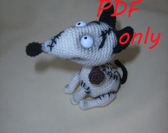 Halloween Dog Crochet Pattern amigurumi PDF
