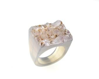 Size 7.75 Amethyst Ring