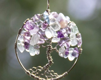 Rainbow Flourite Tree of Life