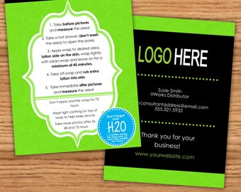 It Works Inspired Wrap Tips and Tricks Card - Personalized Download