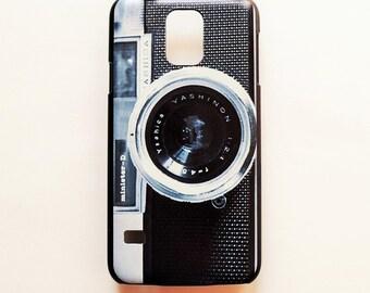 Samsung Galaxy S5 Vintage Camera Hard Plastic  Galaxy S5 Back Cover Old Camera Retro Samsung S5 Cover