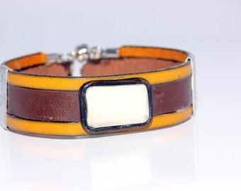 """Designer bracelet """"White Diamond"""""""