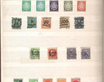 Different rar stamps...in stampbook other surprise gave way to