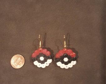 Poke Ball Earrings