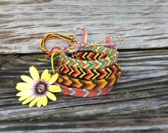 Custom Or Premade Chevron Friendship Bracelet