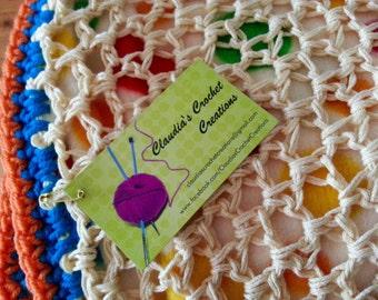 Organic Cotton & Polar Fleece Baby Blanket - ClaudiasCrochet