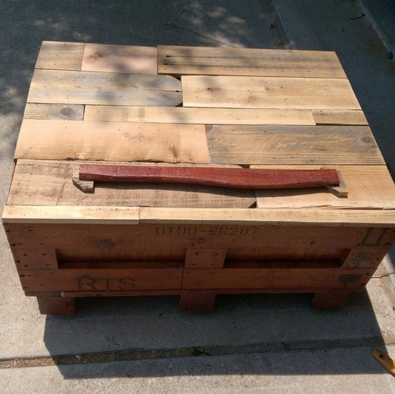 Coffee Table W Storage Trunk Blanket Chest By Upcycledsolutionsatx