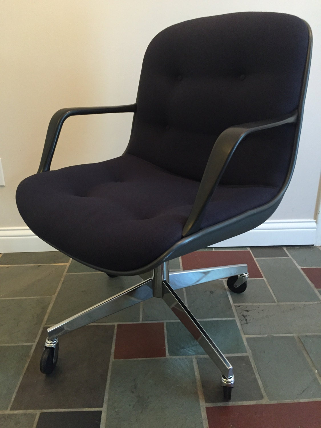 80 s are vintage steelcase navy 451 office chair haute juice