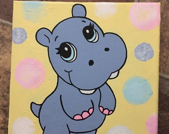 Cute painting for a child's bedroom