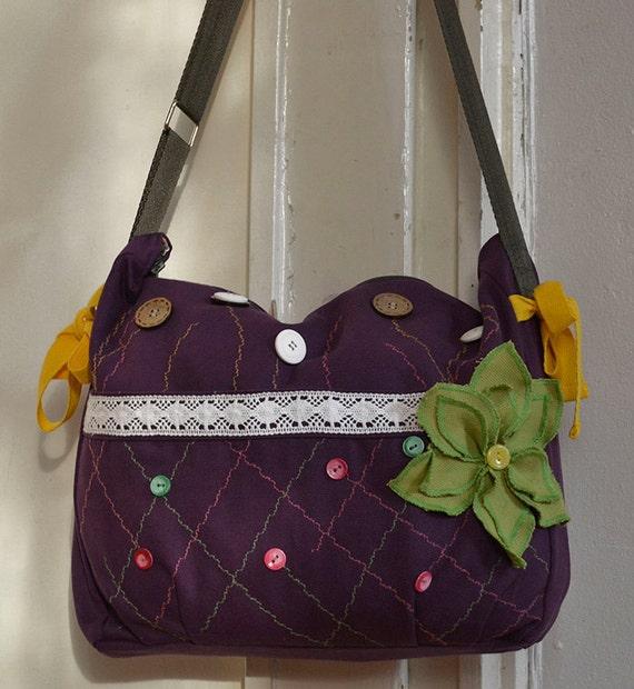 ethno purse overnight bag handmade purse by purpleflowerpurses. Black Bedroom Furniture Sets. Home Design Ideas