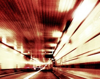 Fine Art Photography, Lincoln Tunnel, New Jersey, NYC, Hudson River, Underwater Structure