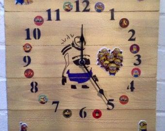 Wooden (Minion) Pallet Clock