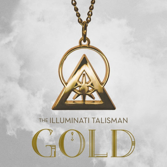 collier homme illuminati