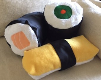Cute Sushi Pillows