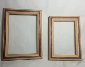 4x6 and 5x7 Matching Picture Frames