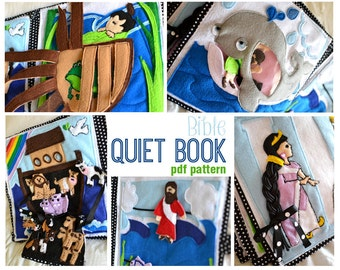 Bible Quiet Book PDF Pattern