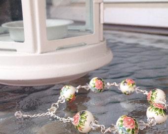 Shabby chic bracelet