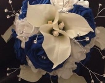 Artificial bridal flower package