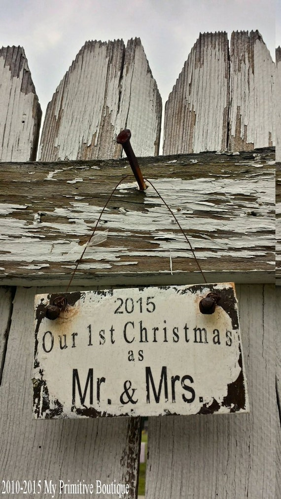 Newlywed Ornament. Christmas Ornaments. Gift for Newlyweds. Newlywed Gifts. Christmas Decorations. Christmas Tree. Christmas Decor.