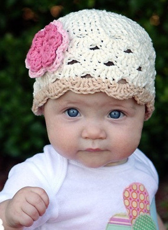 Crochet Baby Hat Baby Girl Beanie Baby Girl Baby Hat Baby