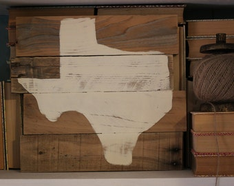 pallet wood TEXAS | handpainted | dark or natural wood | Made to Order | Gallery Wall | Wedding Baby Anniversary Birthday gift | Home DECOR